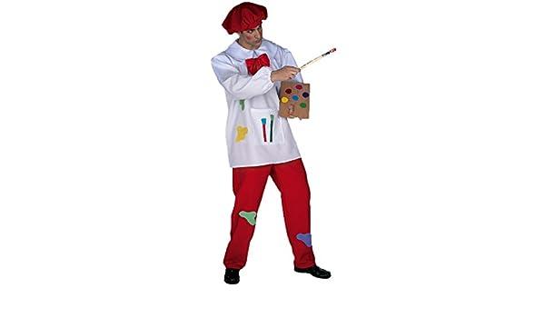 Disfraz pintor adulto. Talla 50/52.: Amazon.es: Juguetes y juegos