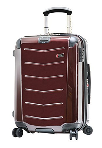 Ricardo Beverly Hills Luggage Rodeo Drive 21-Inch 4-Wheel Expandable Wheelaboard, Black Cherry, One Size by Ricardo Beverly Hills