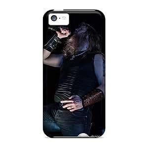 SherriFakhry Iphone 5c Bumper Hard Phone Cover Provide Private Custom HD Amon Amarth Band Skin [WTD18023nByx]