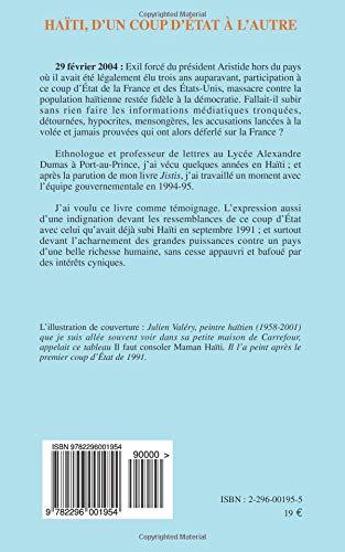 Get e-book Haïti : Dun coup dEtat à lautre (French Edition)
