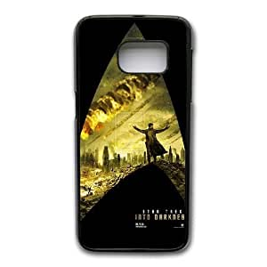 Wunatin Hard Case ,Samsung Galaxy S7 Cell Phone Case Black Star Trek into Darkness [with Free Tempered Glass Screen Protector]BA--94423