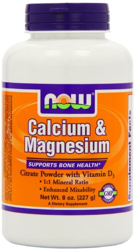 NOW Foods Cal-Mag citrate, 8 onces