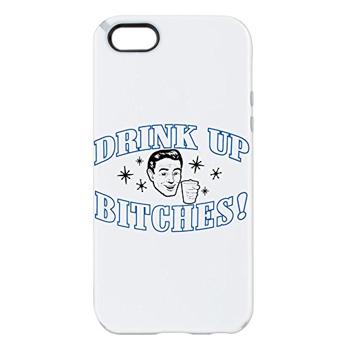 iPhone 5 or 5S Tough Candy Case Beer Drink Up Bitches (Light Case Coors)