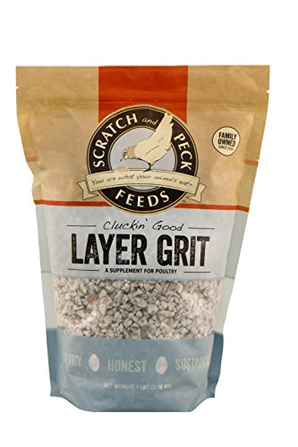ds - Cluckin' Good Layer Grit Supplement for Chickens and Ducks - 7-lbs ()