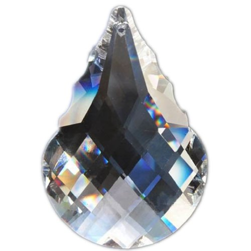 hierkryst 2 Inch Clear Cucurbit Drop Prisms, Pack of 5 ¡