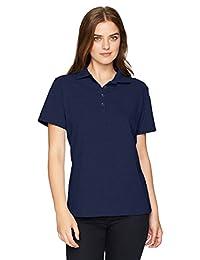 Hanes Womens Women's Pique Polo Polo Shirt