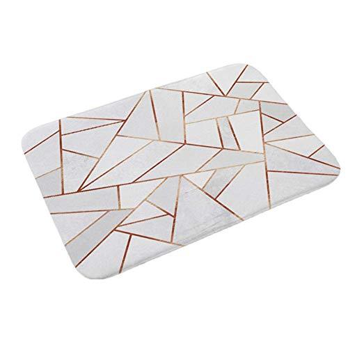 HOUTBY Elegant Texture Floor Mat Non Slip Safety Outdoor Entrance Doormat 15.7