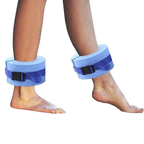 ZEYU Sports Swimming Band Training Aid Ankle Float Leg or Arm, Set of - Ankle Band Swim