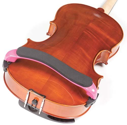 Everest Pink ES Series 15''-16.5'' Viola Adjustable Shoulder Rest by Everest (Image #1)