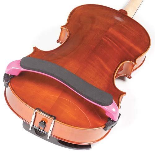 Everest Pink ES Series 15''-16.5'' Viola Adjustable Shoulder Rest by Everest (Image #2)