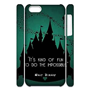 Custom 3D Case for iPhone 5c w/ Magic Castle image at Hmh-xase (style 3)