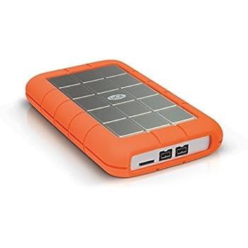 LaCie Rugged Triple USB 3.0 / Firewire 800 5400 rpm 500GB Portable Hard Drive LAC301983
