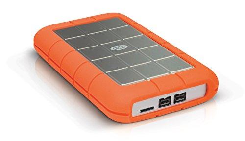 LaCie Rugged Triple USB 3.0 / Firewire 800 5400 rpm 500GB Portable Hard Drive (Lacie 500 Gb Firewire)