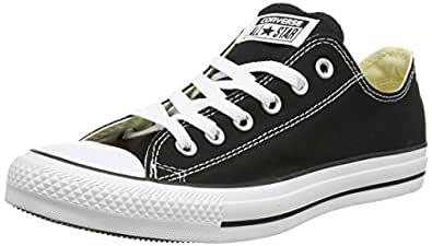 Converse Unisex Chuck Taylor All Star Low Top Black Sneakers - 3.5 D(M)