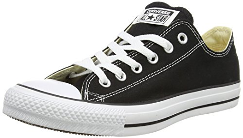 Converse Chuck Taylor All Star Lo Top Black Canvas Shoes men's 7.5/ women's 9.5