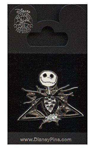 Disney Pin - Jack Skellington - Spiderweb - Jeweled -