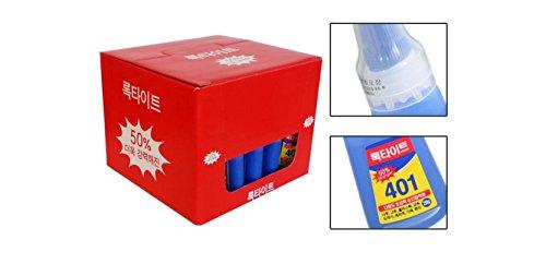 25 X Loctite 401 20g Instant Adhesive Stronger Super Glue Multi-purpose by Loctite (Image #1)