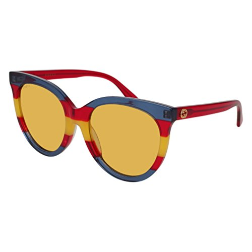 Sunglasses Gucci GG 0179 SA- 002 MULTICOLOR / BROWN RED