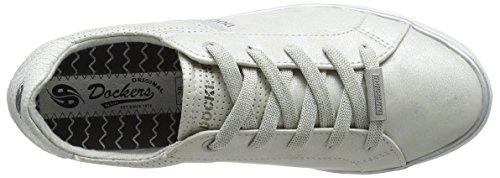Gerli Femme Bleu 680260 Basses Sneakers 40aa214 By Dockers 260 ice H5qw66