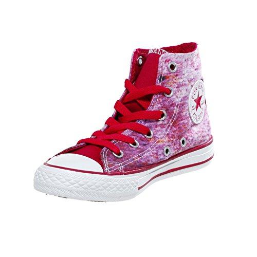 Converse Chuck Taylor Stream Wash - Zapatillas de Deporte de canvas Infantil Rose (Framboise/Multi) Berry Pink