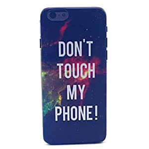 iPhone 6 PLUS Case, iPhone 6 (5.5 Inch) Case - LUOLNH Fashion Style Colorful Painted Do Not Touch My Phone Space Pattern Clear TPU Silicone Gel Back Cover Skin Soft Case for iPhone 6 PLUS ¡ê¡§5.5 Inch¡ê? by ruishername