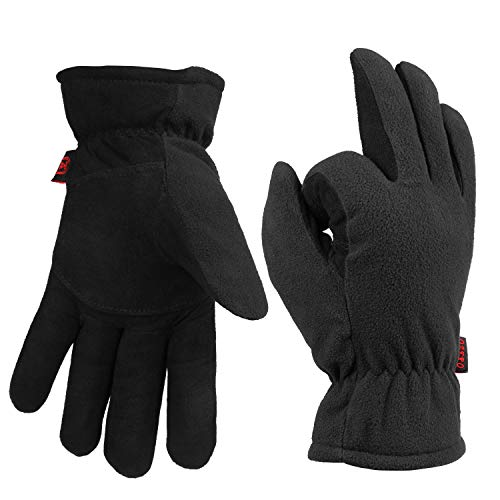 OZERO Men's & Women's Cold Weather Gloves for Driving Skiing and Outdoor Working