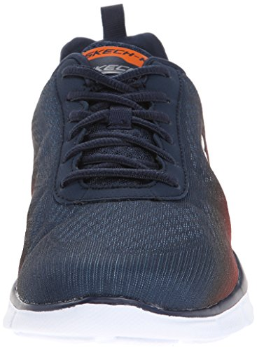 Skechers Herren Equalizer This Way Sneaker Blau
