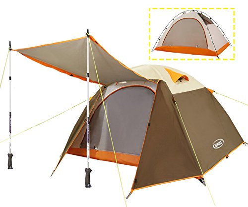 ZOMAKE-Lightweight-Backpacking-Tent-2-Person-4-Season-Waterproof-Camping-Tent