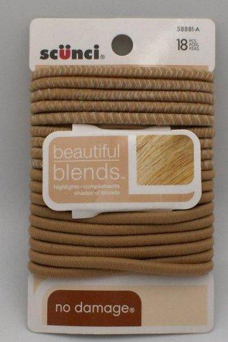 Scunci Beautiful Blends Hair Ties ~3 Pack Blend Tie