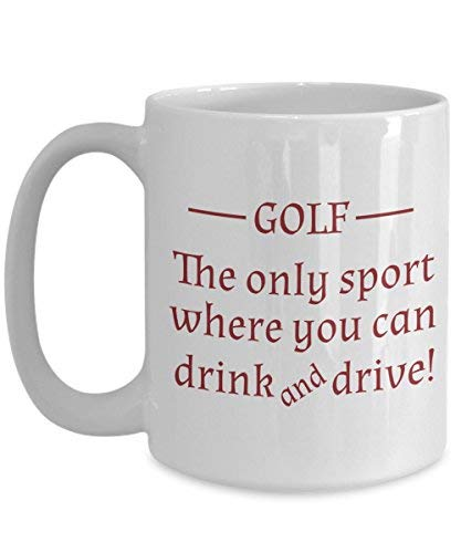 Golf Funny 11oz Coffee Mug