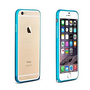 PEACH Ultrathin Hippocampal Buckle Arc Frame PC Case for iPhone 6 Plus (Assorted Colors) , Black