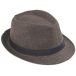 zlhcich Gorra de gángster Sombreros de Playa Hombres Verano ...