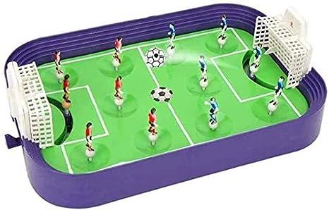 Tabla plástico Fútbol educativos del Rompecabezas de Juguete for el Deporte Partido Juego Interactivo for niños Mesa de Juguete de la diversión de fútbol del Juguete Mini portátil Futbolín Juguete de: Amazon.es: