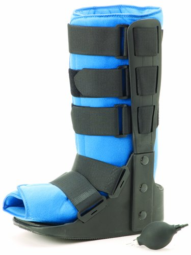 Air Traveler Walker High Boot Lo-Profile w/Bladder Large by Marble Medical