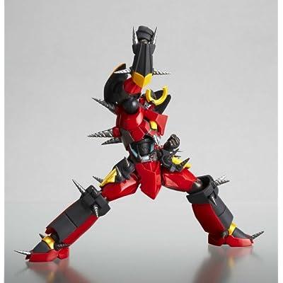 Tengen Toppa Gurren Lagann Revoltech #058 Super Poseable Action Figure Gurren Lagann (Fully Drillized Version): Toys & Games