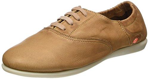Softinos Women's Ver362sof Ballet Flats Brown (Brown) goMx3