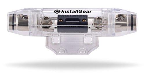 InstallGear 1/0 Gauge AWG In-Line ANL Fuse Holder with 300 Amp (Design Fuse Holder)
