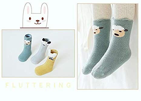 Soft Material 【6 Pairs】baby socks Delicate Workmanship