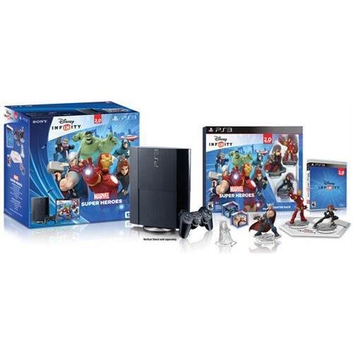 Sony Playstation 3000473 PS3 12GB HW Bundle (CECH-4301A) – Disney Infinity 2.0 and Figures