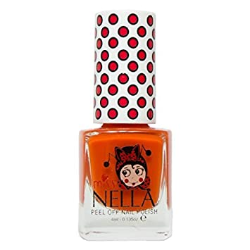 Miss Nella Bubble Gum Special Light Purple Nail Polish for Kids with Peel-off Water Based Formula by MissNella OMG Marketing