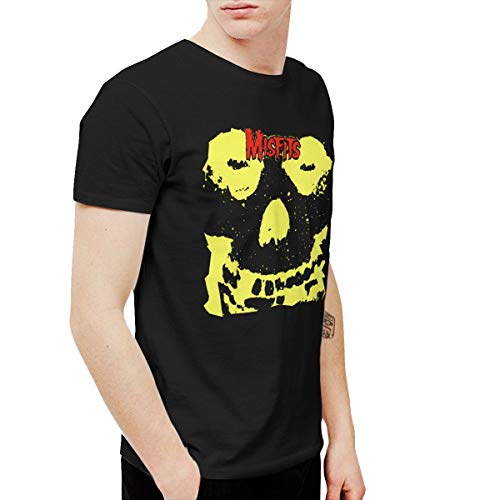 (Kangtians Kxosdknfz Mens Misfits Collection Cool Hiking Black 4XL T Shirt Short)