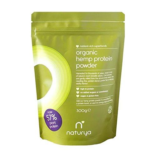 Naturya Organic Hemp Protein Powder - 300g (0.66lbs) by Naturya