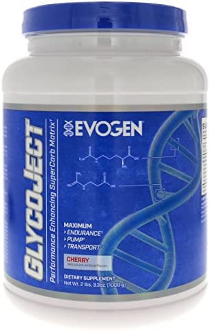 Evogen GlycoJect Extreme Karbolyn Carbohydrate Powder Cherry 36 Serving