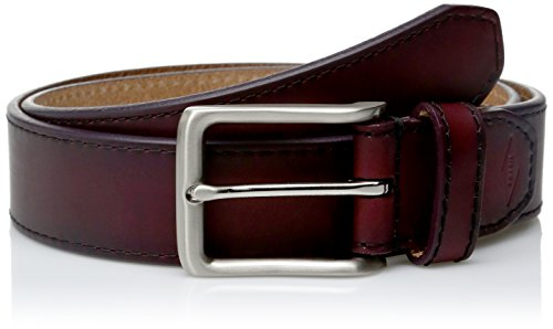 Fossil Red Leather - Fossil Men's Griffin Belt-Cordovan, 36