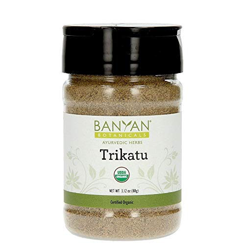 Banyan Botanicals Trikatu Powder - USDA Organic, Spice Jar - Heating & Stimulating - Supports Digestion of Heavy Foods* ()