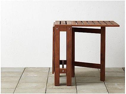 IKEA wetterfester Holz Klapptisch Äpplarö Gartentisch aus