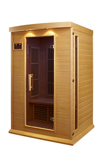 DYNAMIC SAUNAS AMZ-MX-K206-01 Maxxus Toulouse 2-Person Far Infrared Sauna by DYNAMIC SAUNAS