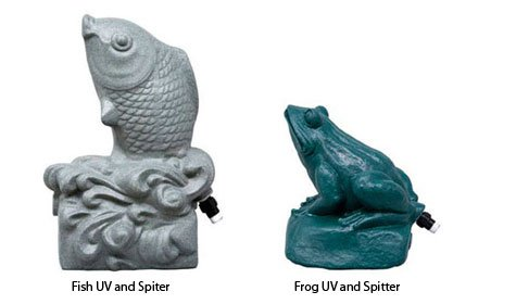 Aqua UV 15 watt Aqua Frog/Fish Statuary Ultraviolet Transformer by Aqua Ultraviolet