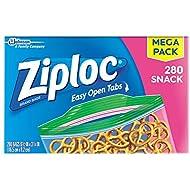 Ziploc Snack Bags, 280 ct