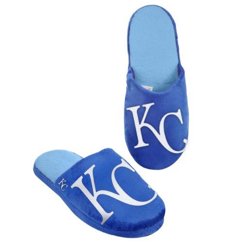Kansas Slide (MLB Kansas City Royals 2011 Big Logo Slide Slipper Hard Sole X-Large)